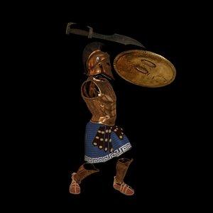 armor spartan sparta model