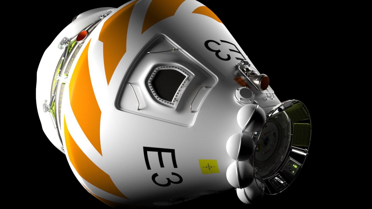 3D concept spacecraft