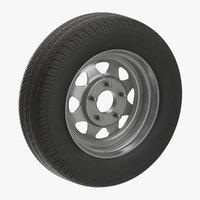Spare Car Wheel