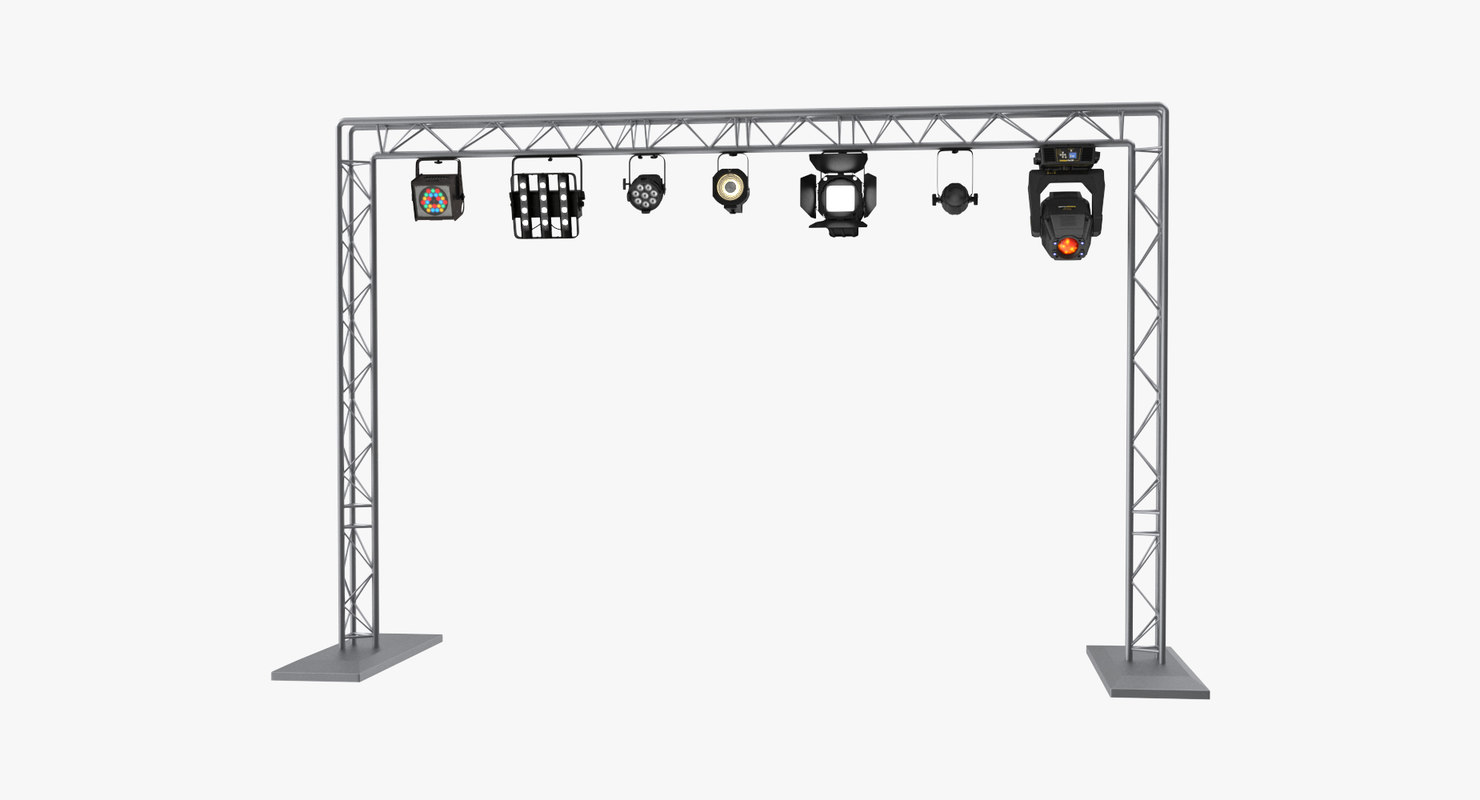lights truss model