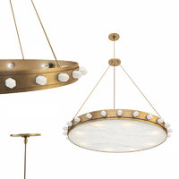 3D halcyon large chandelier