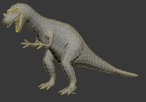 ceratosaurus million years bc 3D model
