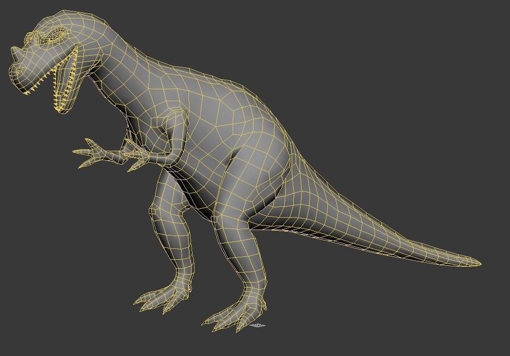 ceratosaurus million years bc 3D model