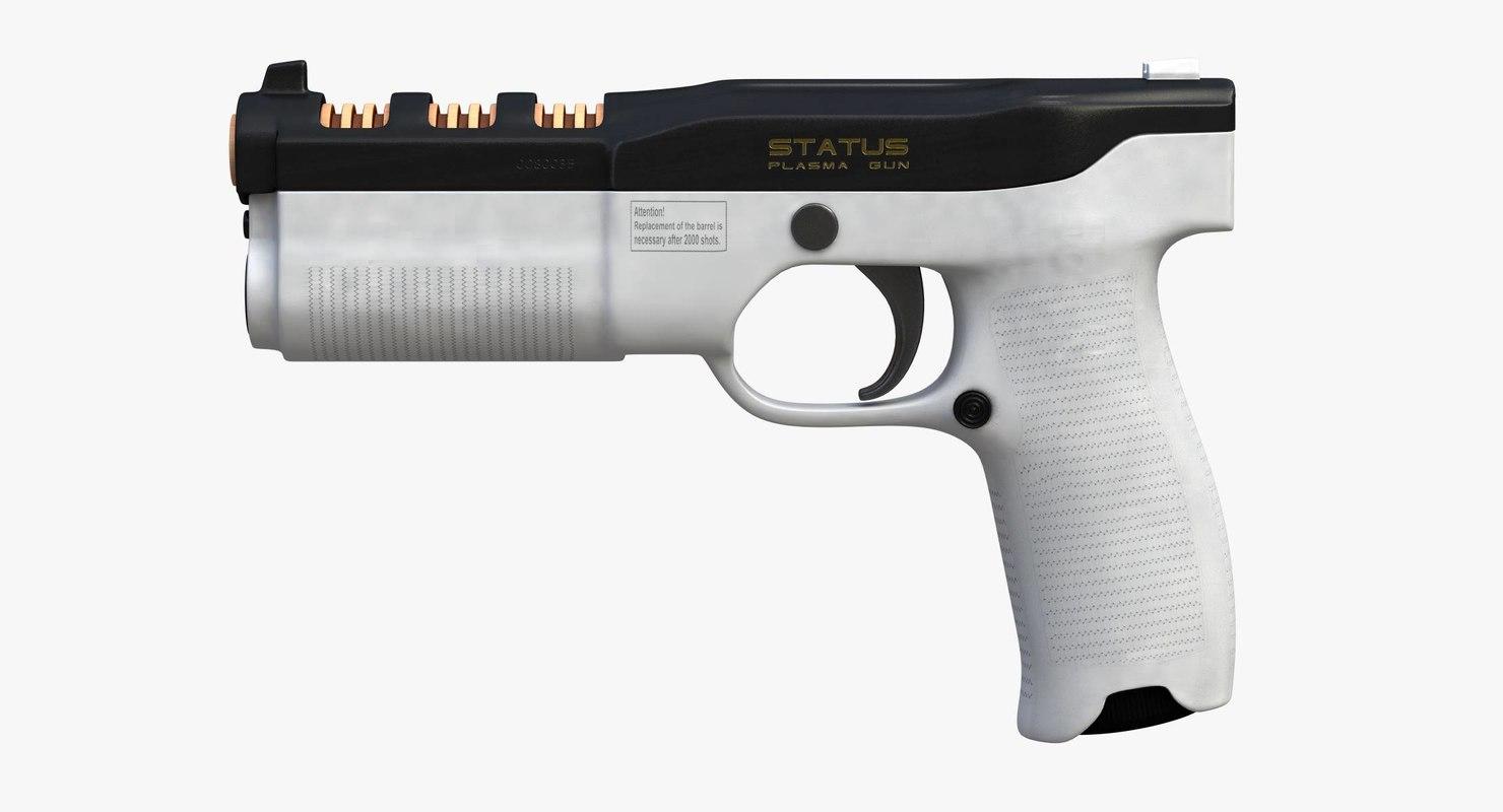 plasma pistol - 3D