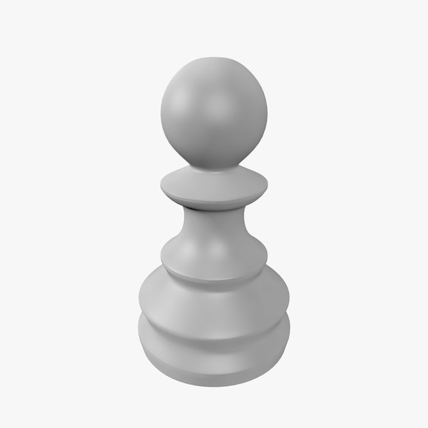 chess pawn 3D model