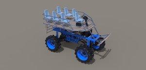 3D platform model