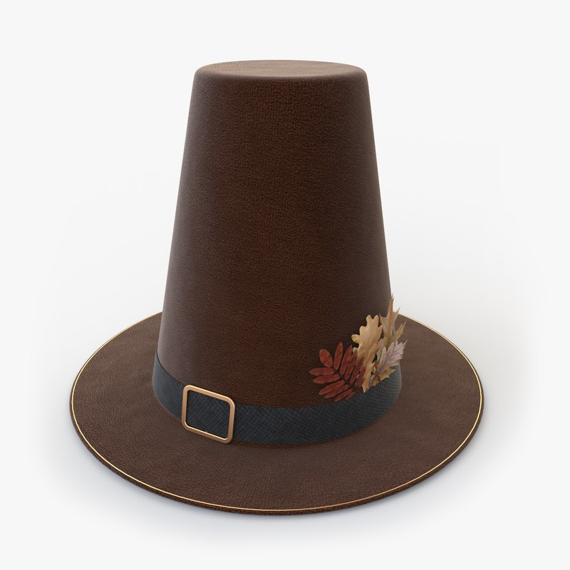 3D thanksgiving hat