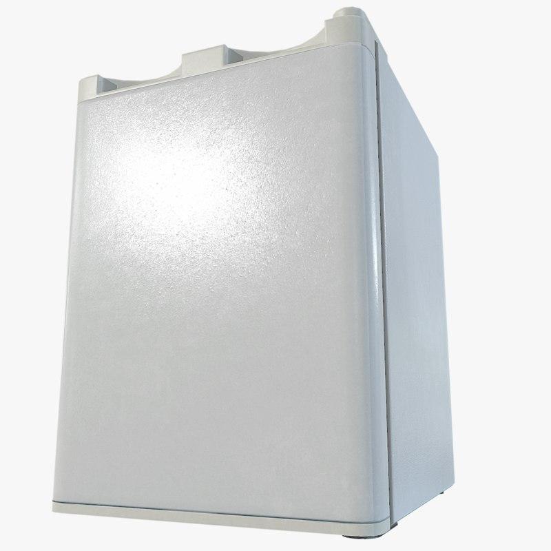 3D mini fridge model