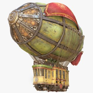 airship fighting 3D