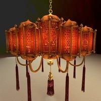 chinese palace lampe model