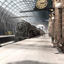 train station king s 3D model