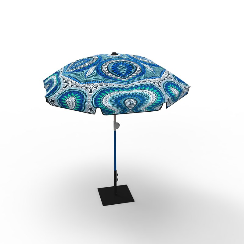 sun umbrella 3D