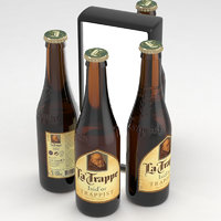 3D beer trappist model