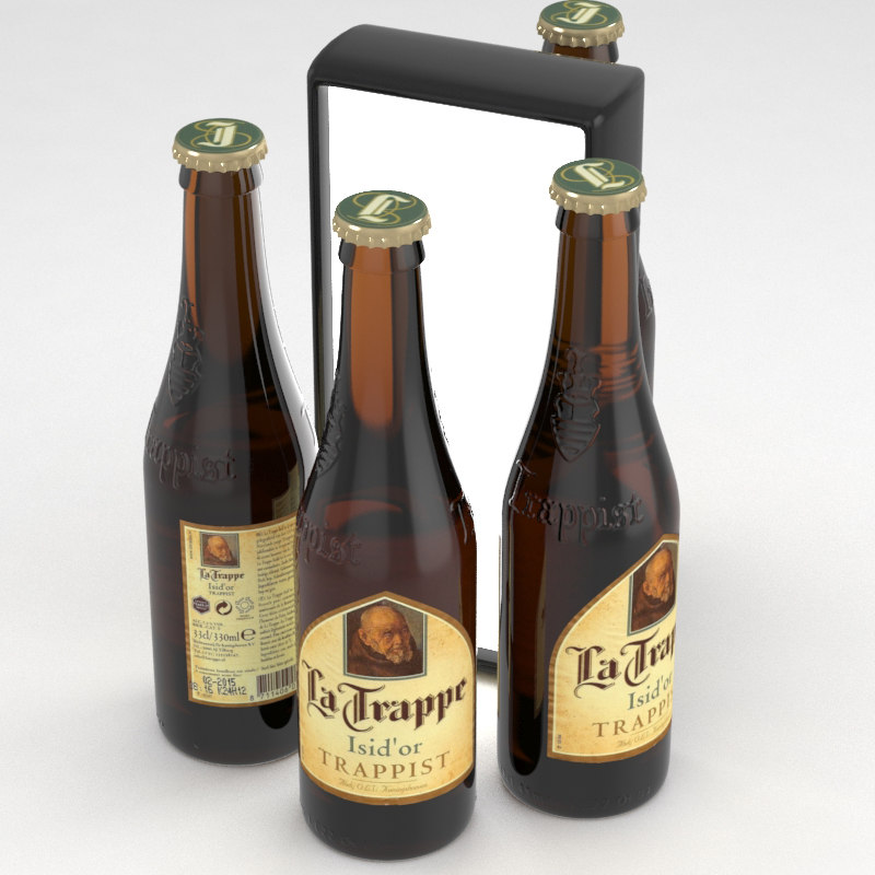 3D beer trappist model