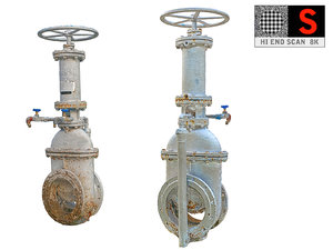 industrial pipes 3D