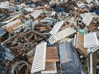 Industrial  debris