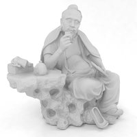 chinese sculpture model