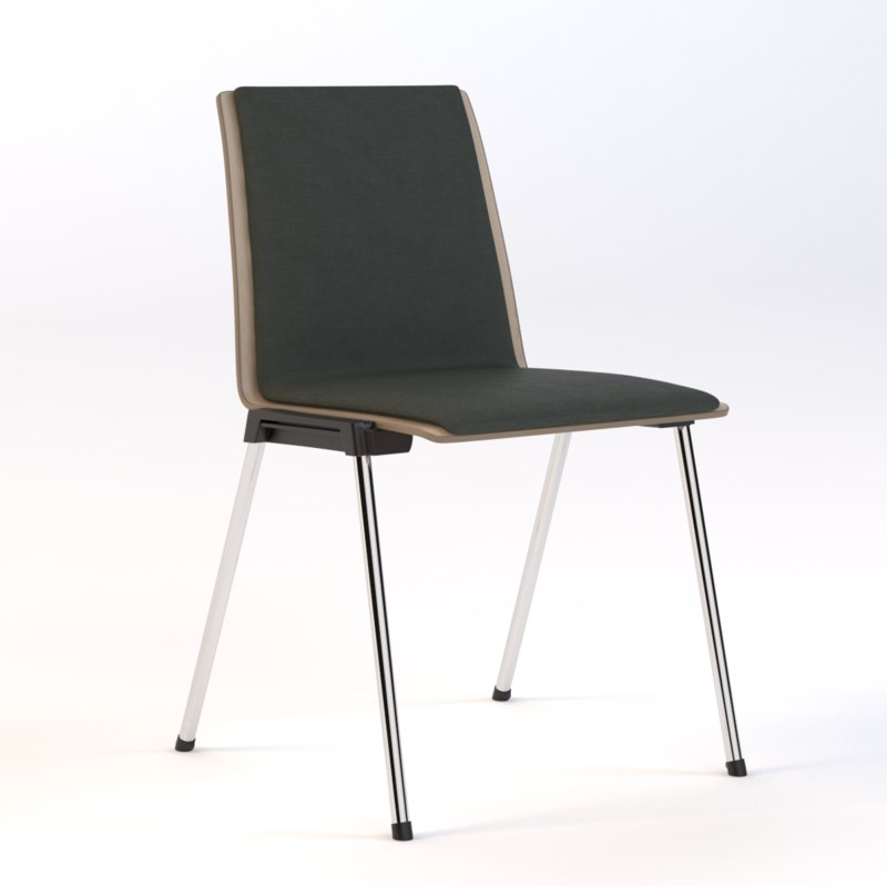 3D model realistic photoreal seating