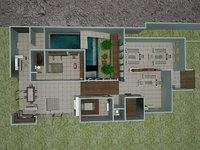 plans complete 3D model
