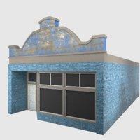 3D ready shop - games model