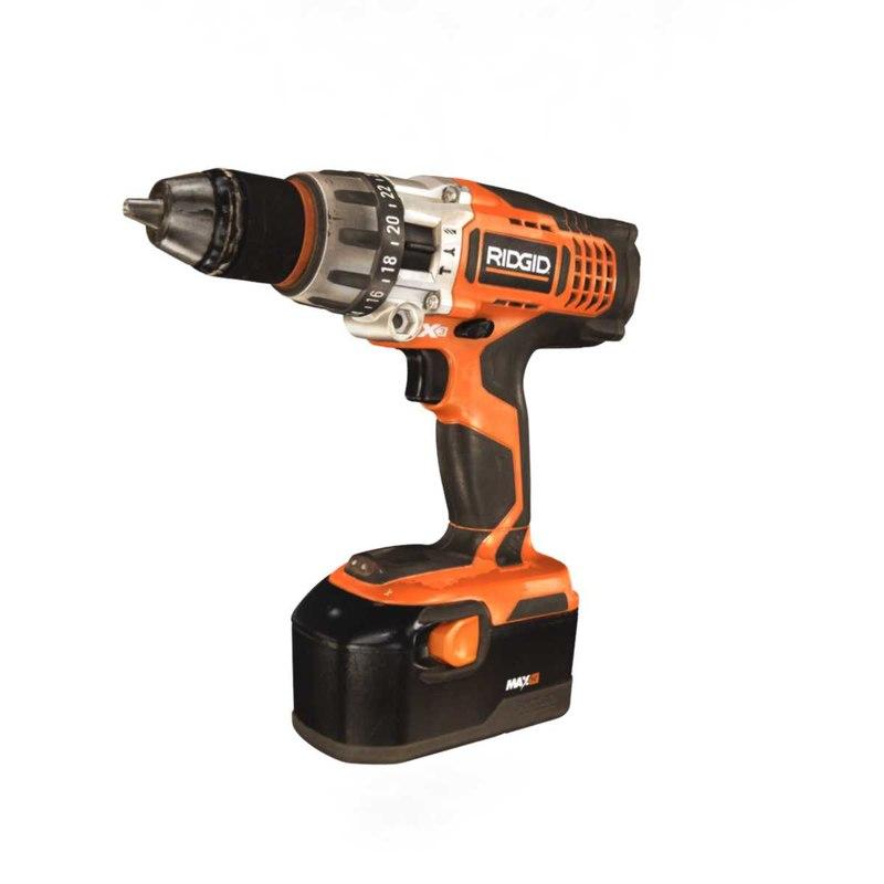 drill power ridgid 3D model