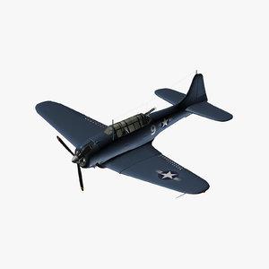 douglas dauntless bomber model