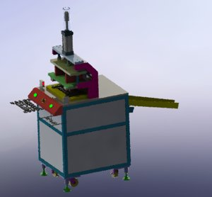 3D plastic pressing machine