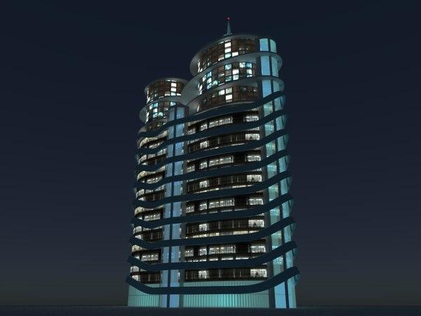3D skyscraper