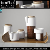 decorative coffee tonfisk design model