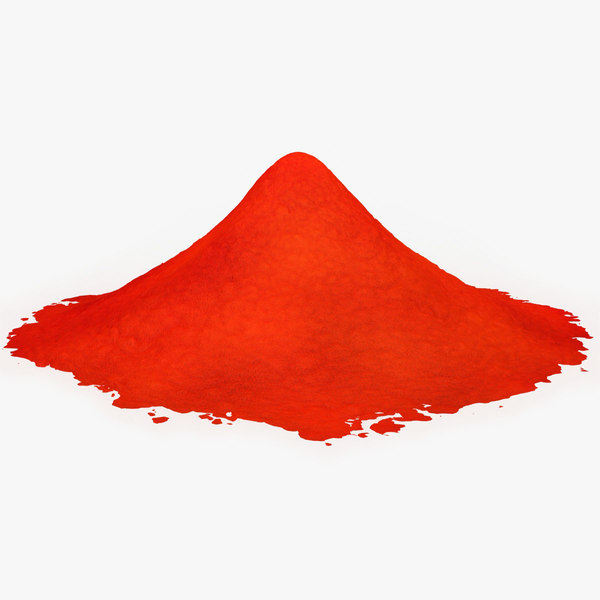 chili powder 3D