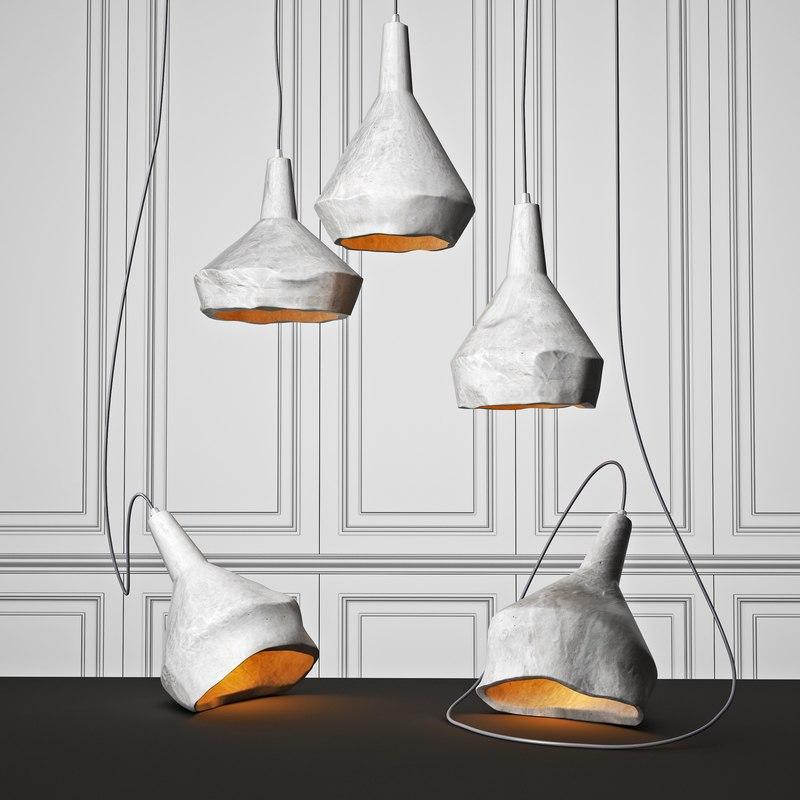 3D model pendant lighting