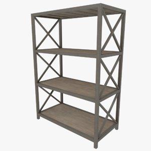 shelf cabinet 3D model
