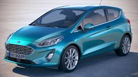 Ford Fiesta Titanium 3-door 2017