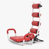 ab rocket twister gym 3D model