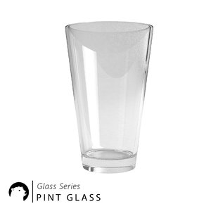 pint glass 3D model
