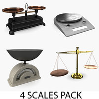 3D scales pack