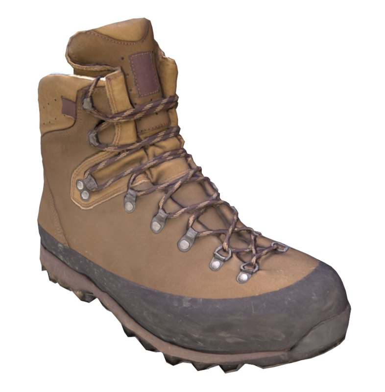 mountain boot 3D model