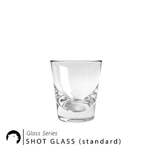 3D model shot glass