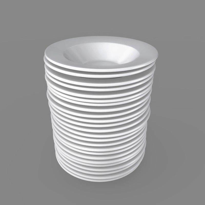 3D plates pack 24 -