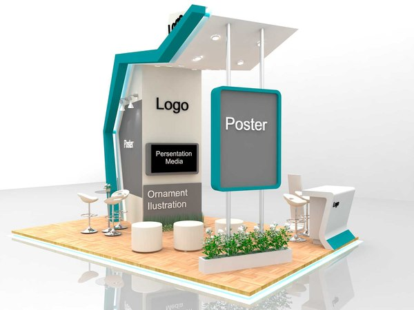 design booth include shop model