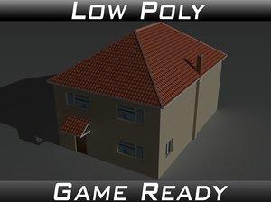 3D model house 12