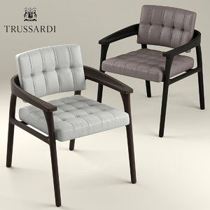 chair armchair lounge 3D model