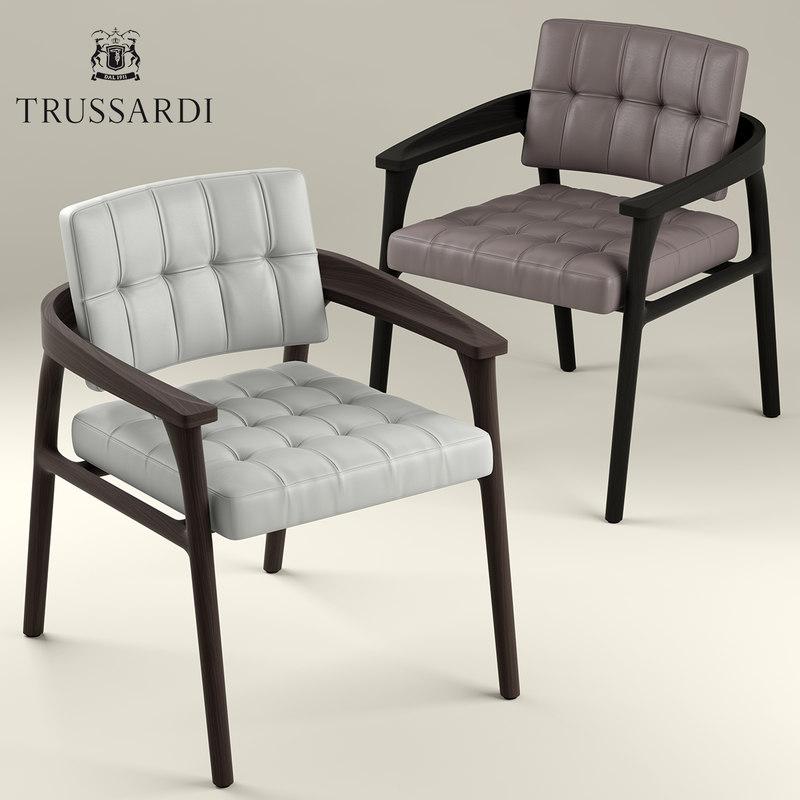 chair armchair lounge 3D model