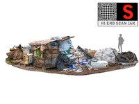 garbage industrial 3D model