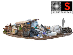 garbage industrial 3D model