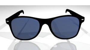 sunglasses blue model