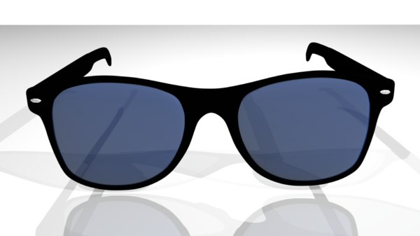 sunglasses blue model