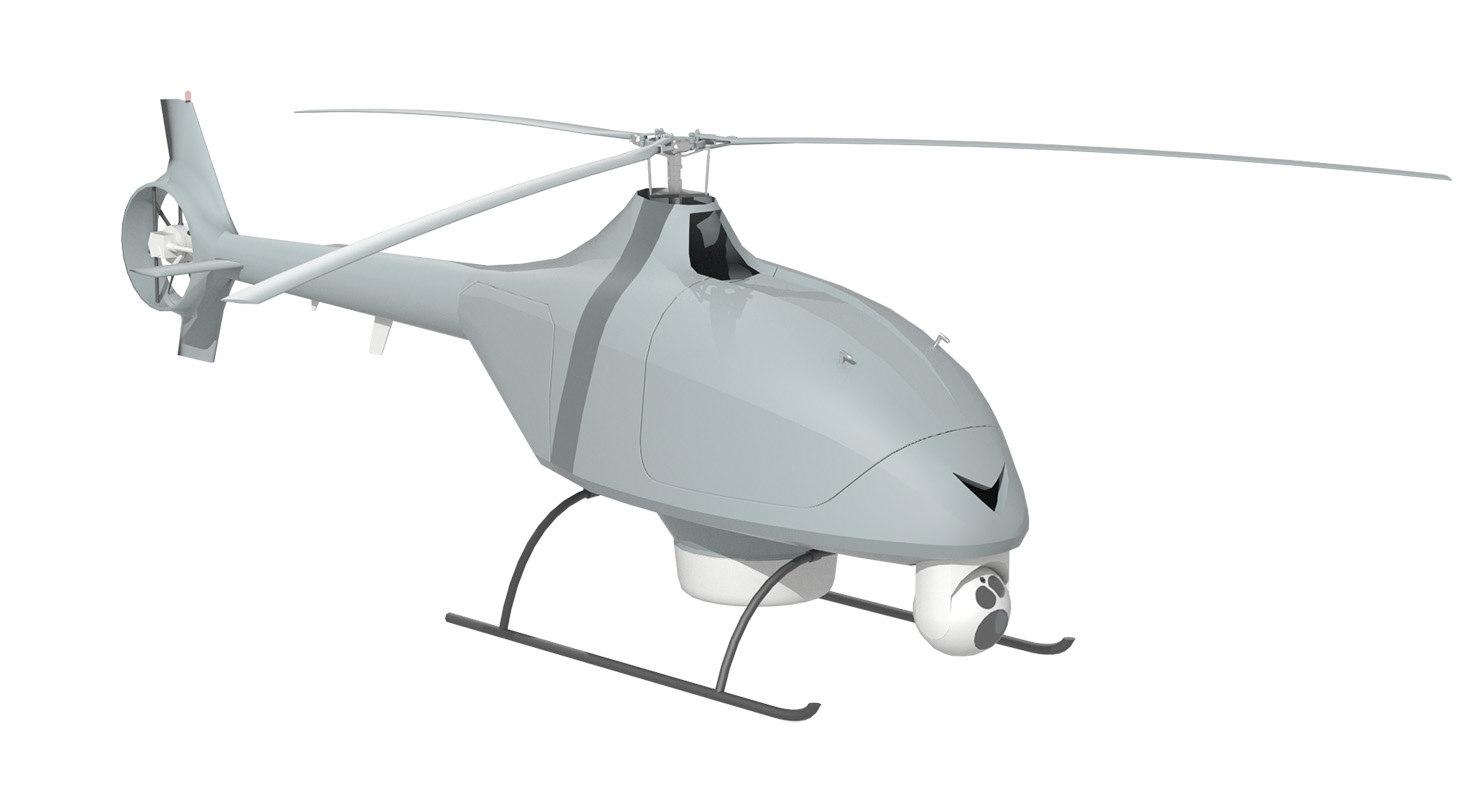 vsr700 helicopters 3D model