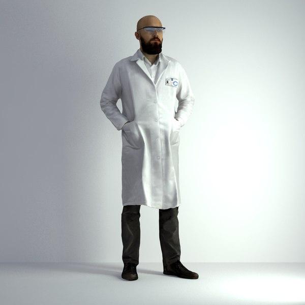 scanned man 021 3D