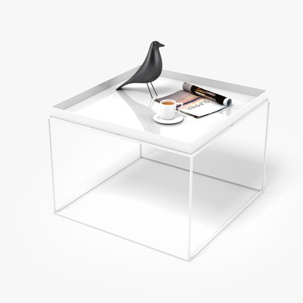 table realistic 3D model